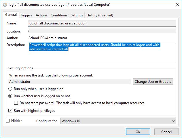 Log off all but current user Solved - Windows 10 Forums