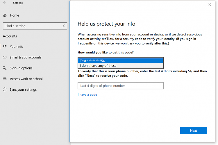 I Can't Verify Identity of User Account on Windows 10-capture-verify-identity-1.png