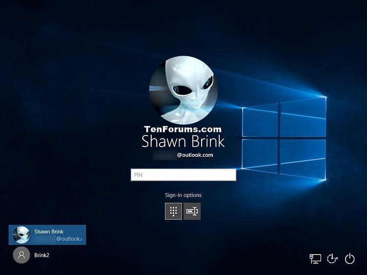 change login screen windows 10 password