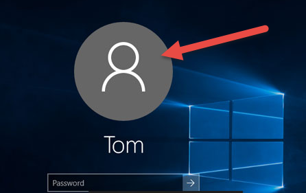 how to change user profile windows ten