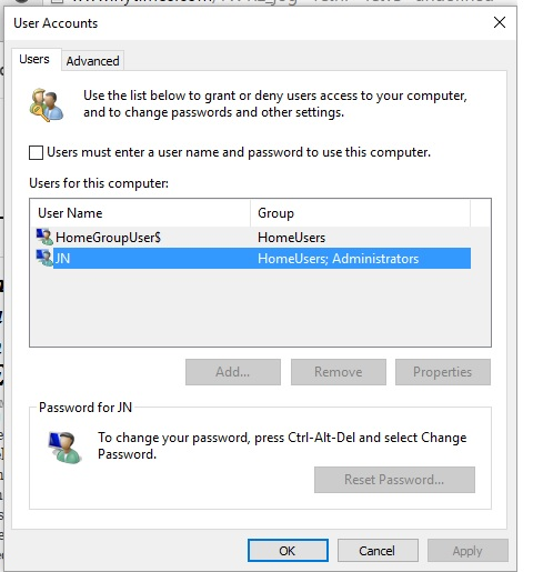 Can't bypass login and password Solved - Windows 10 Forums