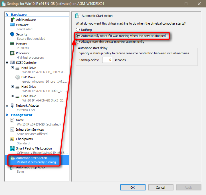 suspend and resume vm much slower on hyper v than vmware windows