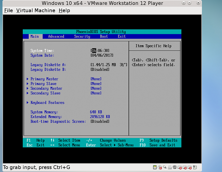 Vmware workstation works 100 cpu usage