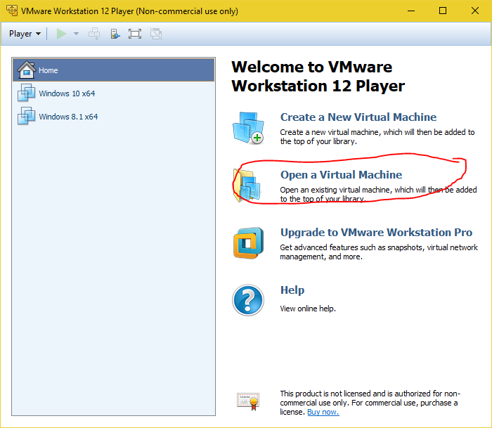 Vmware Wont Open a Virtual machine-vmware.png