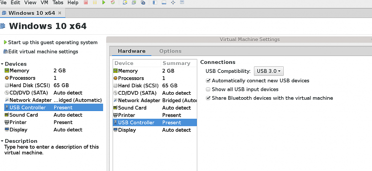 VMware-usb storage device not recognized - Windows 10 Forums