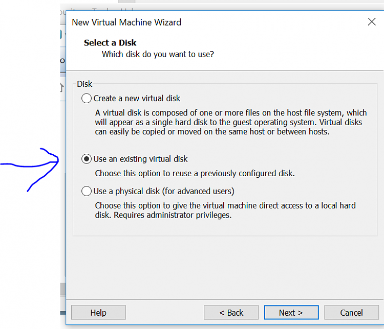 Mounting VMware Workstation snapshots with split vmdk files