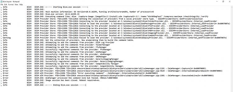 Mounting VMware Workstation snapshots with split vmdk files