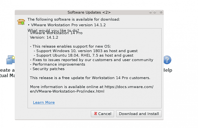 VMware new release 14 1 2 Solved - Windows 10 Forums