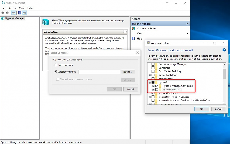 How do i disable Hyper-V on Windows 10 Home - Page 2 - Windows 10 Forums