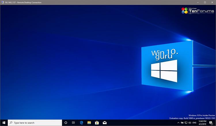Remote access to Hyper-V VM - Windows 10 Forums