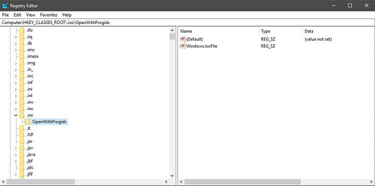 Unable to Mount ISO file in Windows Explorer Solved