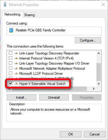 Hyper-V error when creating virtual switch  Solved - Windows 10 Forums