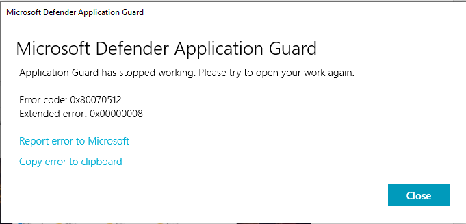 Application Guard has stopped working-untitled.png