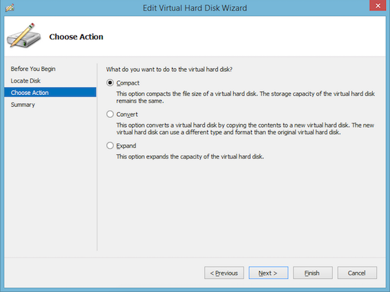 How to release unused space in VHDX disks? Solved - Windows