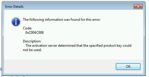 Click image for larger version.  Name:Activation Error Code for Hyper-V 7 Ultimate.jpg Views:95 Size:26.4 KB ID:37228