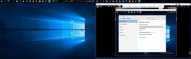 Click image for larger version.  Name:W10 PRO x64 RUNS W7 PRO x64 W10 VM UPDATES.jpg Views:3 Size:179.8 KB ID:42334