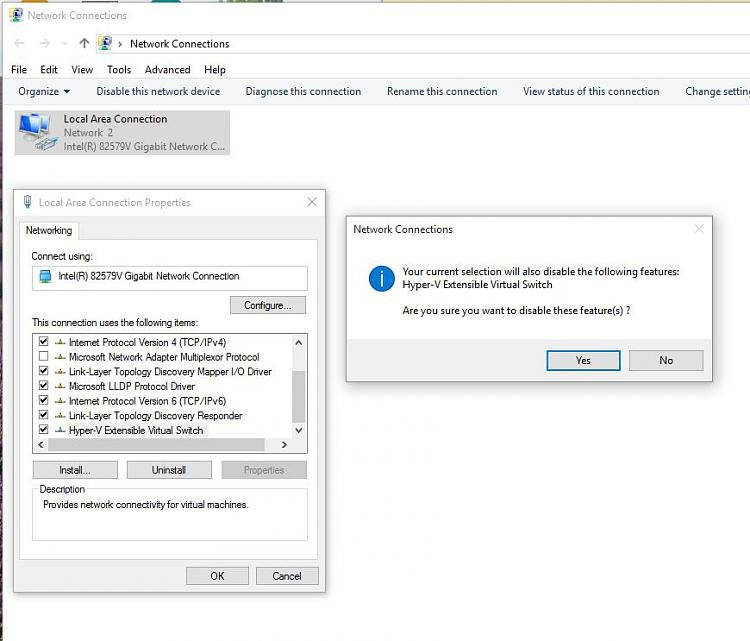 hyper v cannot connect to virtual machine windows 10