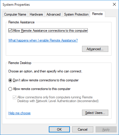 Click image for larger version.  Name:Win10Pro-Remote.png Views:33 Size:13.2 KB ID:57828