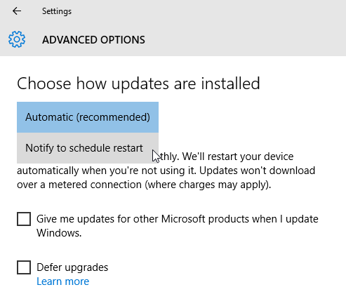 Click image for larger version.  Name:Windows-10-update-settings.png Views:74 Size:10.3 KB ID:109505