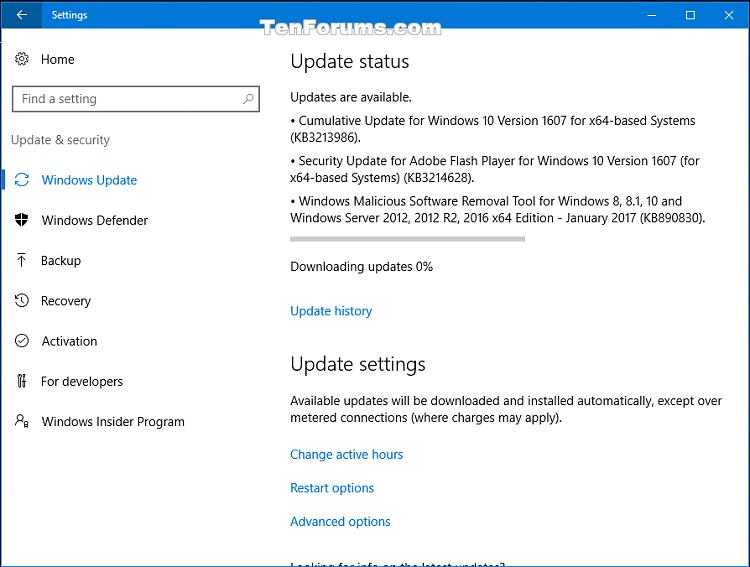 Marvelous Cumulative Update Kb3213986 Windows 10 Version 1607 Build Home Interior And Landscaping Spoatsignezvosmurscom