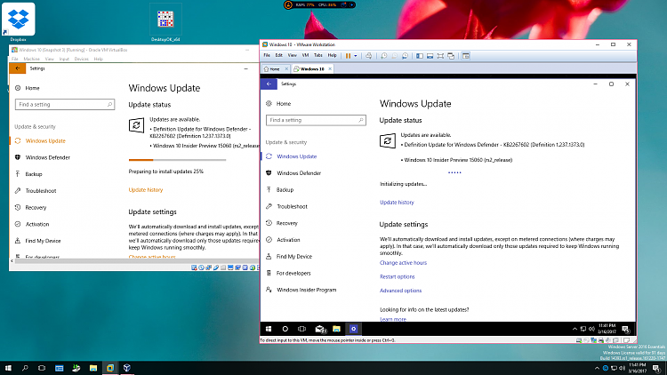 Click image for larger version.  Name:HP Virtual Windows 10 Build 15060 VMs.PNG Views:4 Size:587.4 KB ID:125444