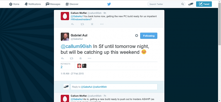 Click image for larger version.  Name:2015-02-27 08_01_31-Gabriel Aul on Twitter_ _@callum90ish In Sf until tomorrow night, but will b.png Views:40 Size:250.2 KB ID:13384