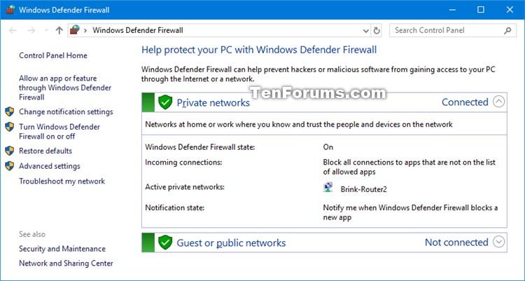 Click image for larger version.  Name:Windows_Defender_Firewall.jpg Views:39 Size:72.6 KB ID:135880