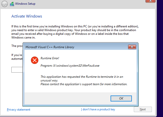 Announcing Windows 10 Insider Preview Build 16215 PC + 15222 Mobile-hyper-v-installation-error.png