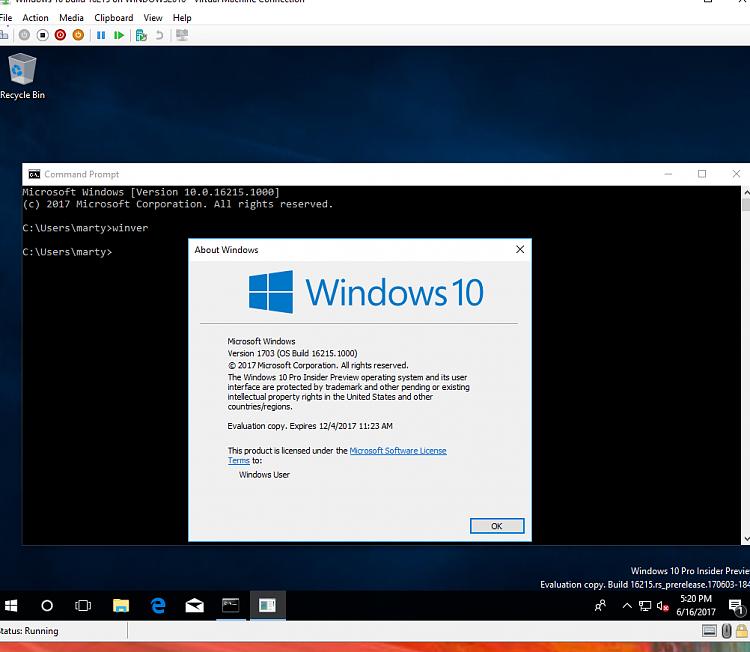 Click image for larger version.  Name:Hyper-V Windows Build 16215.PNG Views:3 Size:153.7 KB ID:139867