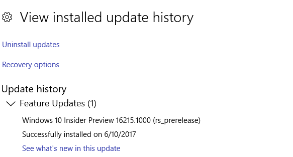 Click image for larger version.  Name:Update History.PNG Views:58 Size:12.4 KB ID:140517