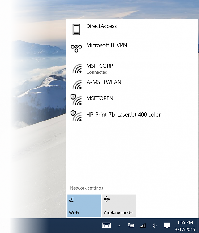 Windows 10 Technical Preview Build 10041 now available-network-flyout.png