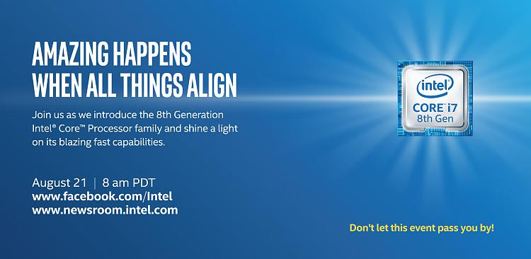 New i7 8th Gen Intel Core Processor Family to Debut Aug. 21-amazing-things-happen.jpg