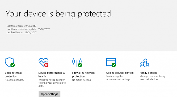 Announcing Windows 10 Insider Preview Fast & Skip Build 16273 for PC-defender-error-goes-update-settings.png