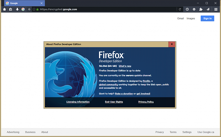 Firefox Developer Edition 56 - The Best Developer Images