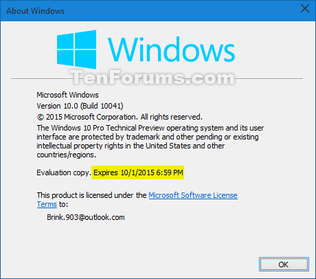 Windows 10 Technical Preview Build 10041 now available-build-10041_expires.png