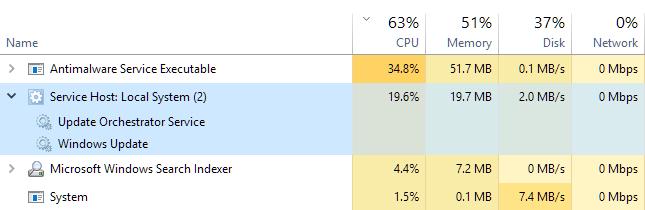 Cumulative Update KB4038782 Windows 10 v1607 Build