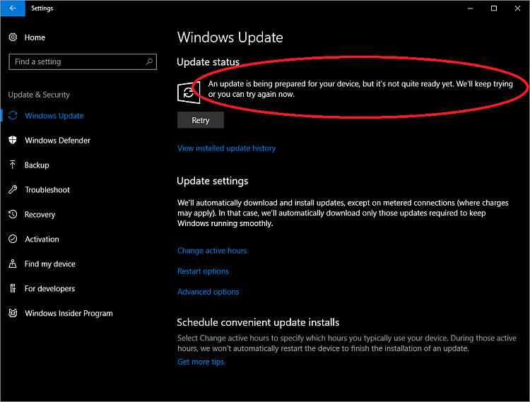 Announcing Windows 10 Insider Build Slow 16288 PC + Fast 15250 Mobile-update_not_ready.png