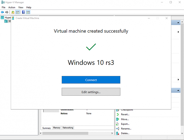 Announcing Windows 10 Insider Preview Skip Ahead Build 16362 for PC-hyper-v-quick-create-1.png