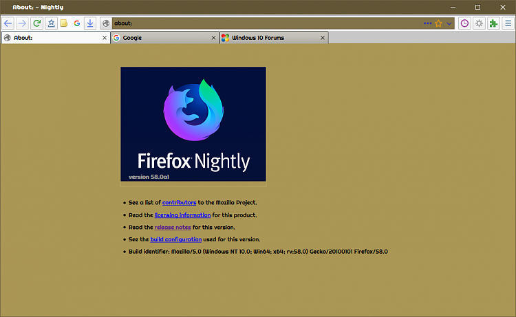 Firefox Fights Back - Firefox 57 - Page 39 - Windows 10 Forums