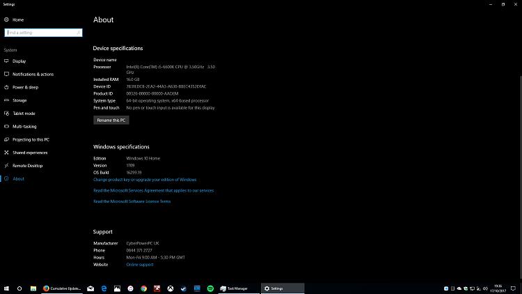 Cumulative Update KB4043961 Windows 10 v1709 Build 16299.19-2017-10-17.png