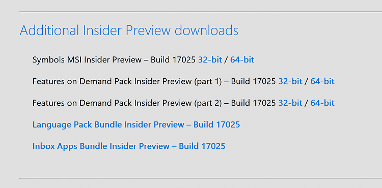 Announcing Windows 10 Insider Slow Build 17025 for PC