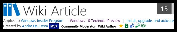Windows 10 Wiki FAQs - Windows 10 Forums