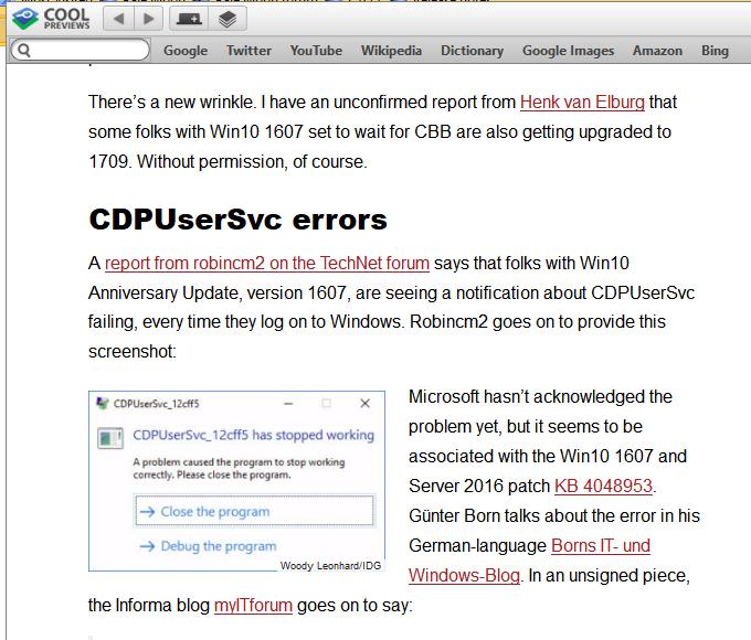 Cumulative Update KB4048953 Windows 10 v1607 Build 14393 1884
