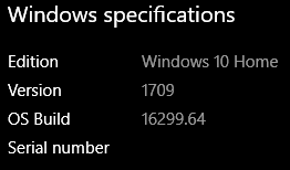 Click image for larger version.  Name:win10 Specs 1709.16299.64_ _98WTH.PNG Views:43 Size:6.3 KB ID:168180