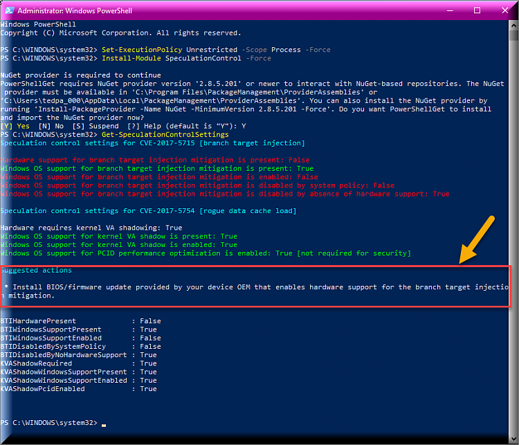 Click image for larger version.  Name:PowerShell Verification.png Views:4 Size:82.5 KB ID:171068