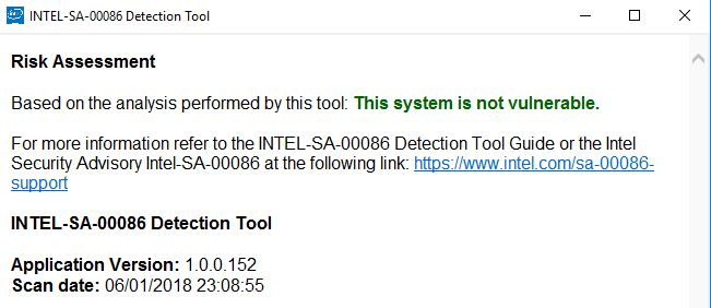 Click image for larger version.  Name:INTEL-SA-00086 Detection Tool.jpg Views:104 Size:35.2 KB ID:171244