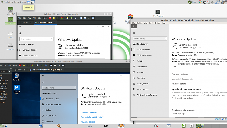 Announcing Windows 10 Insider Preview Slow Build 17074 1002