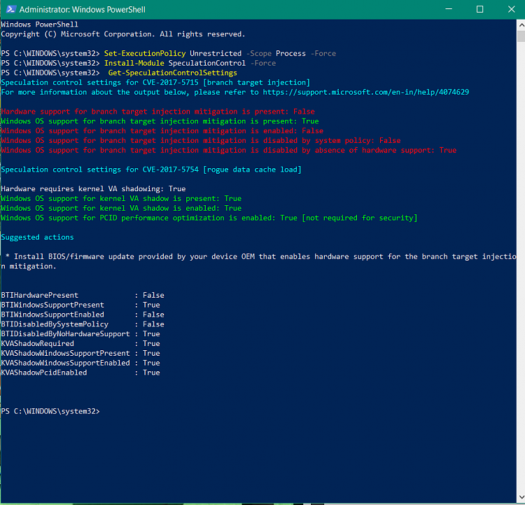 Click image for larger version.  Name:Powershell HP results.PNG Views:7 Size:66.6 KB ID:173387