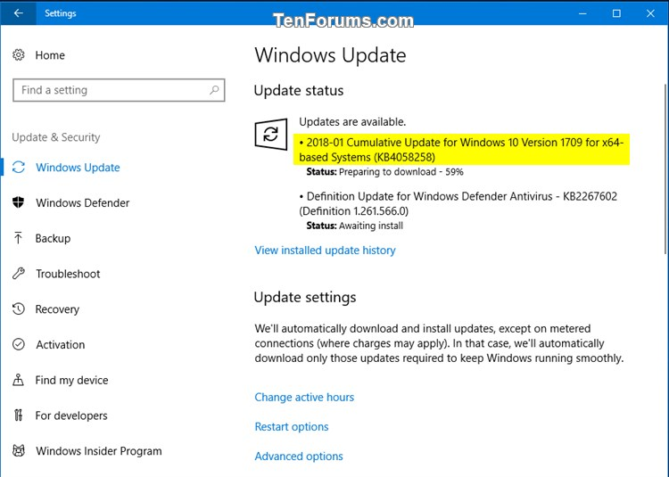 Cumulative Update KB4058258 Windows 10 v1709 Build 16299.214 - Jan. 31-kb4058258.jpg