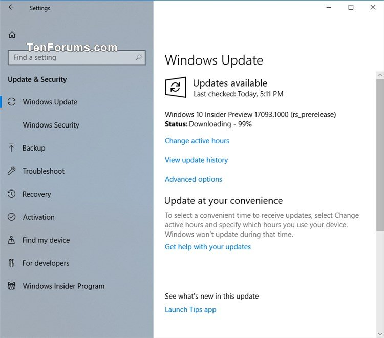 Announcing Windows 10 Insider Preview Build 17093 for PC Fast+Skip-windows_10_build_17093.jpg